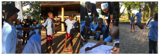 Youth Environmental Stewardship Camp – Gomoti Tented Camp